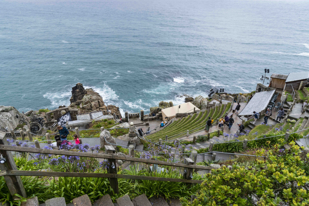 Minack Theater in Cornwall