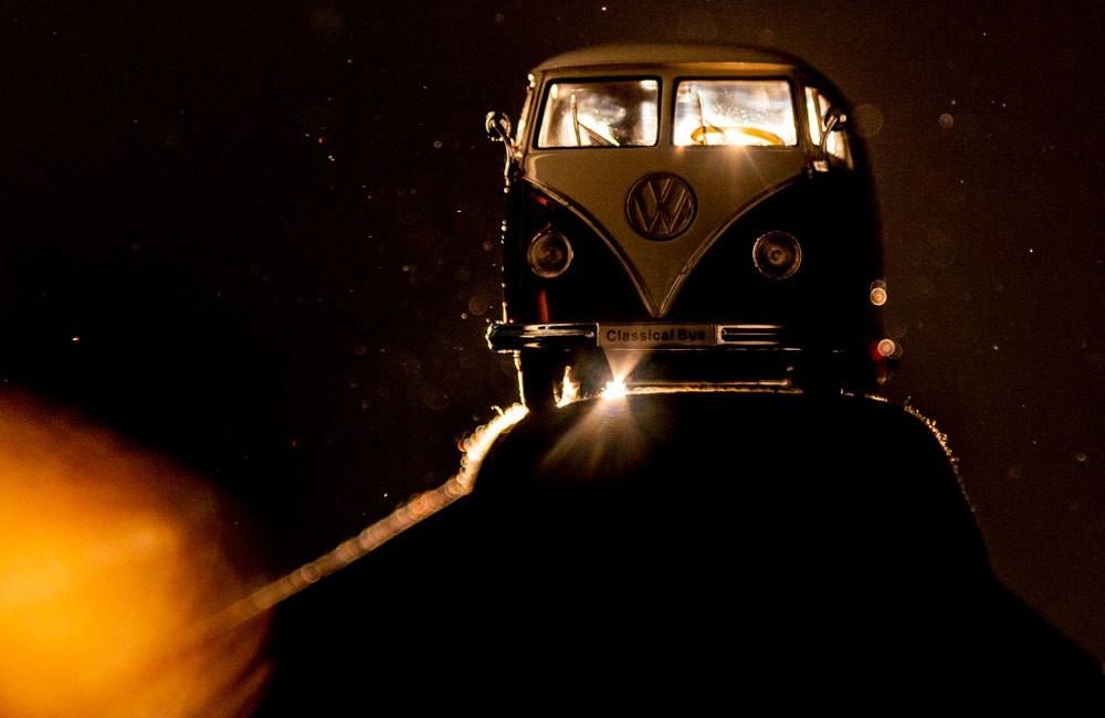 effektive Werbung auf dem Trippics-Bus