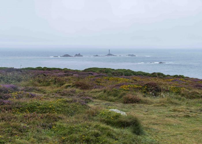 Blick von Land's End aufs Meer