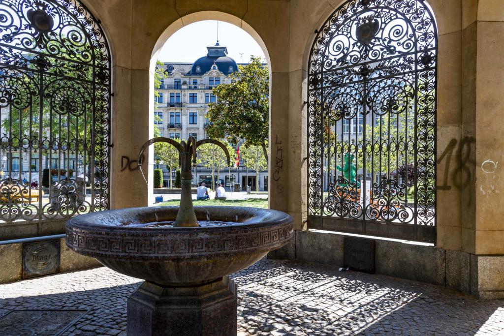 Kochbrunnen in Wiesbaden