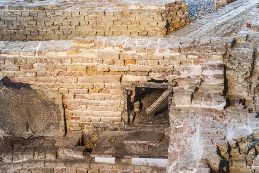 Überreste der ersten Eisenhütte im Ruhrgebiet