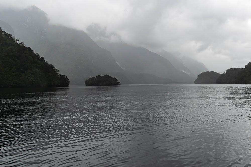Bootsfahrt über den Doubtful Sound