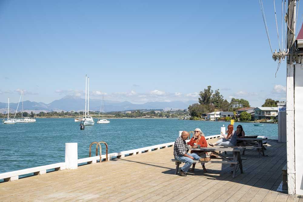 Pier in Mapua
