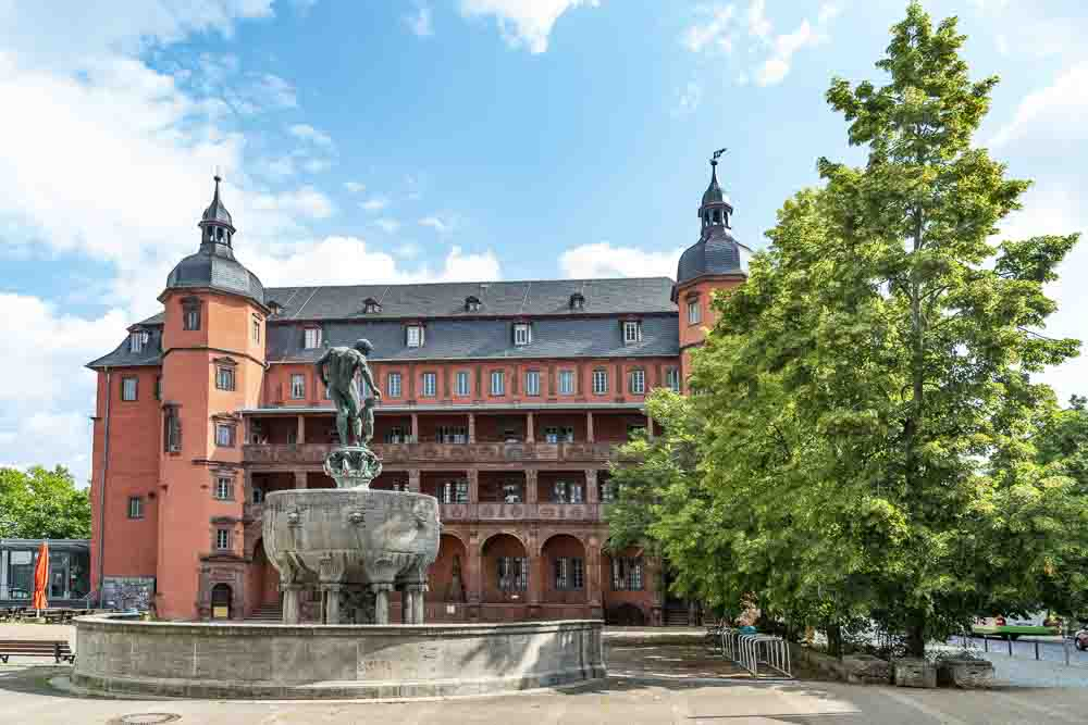 Schloss Isenburg Stadtseite