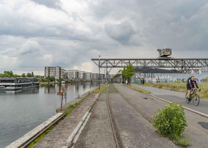 Überblick Hafen Offenbach