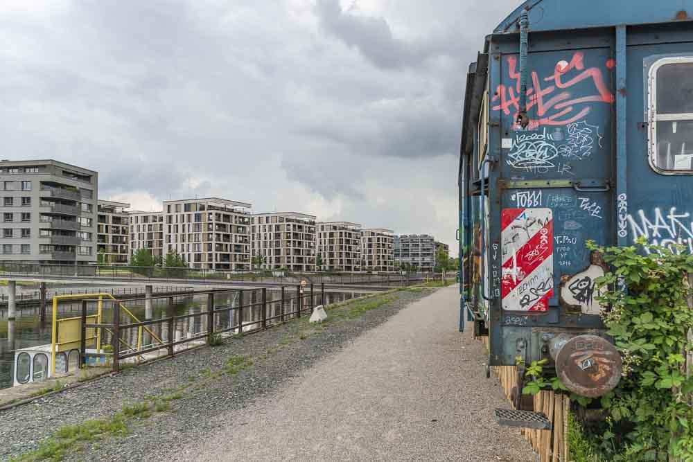 Hafen Offenbach Überblick