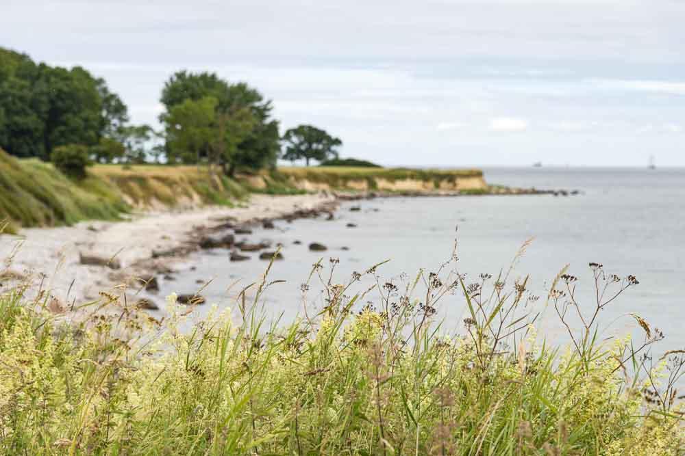 Küste beim Leuchtturm Staberhuk
