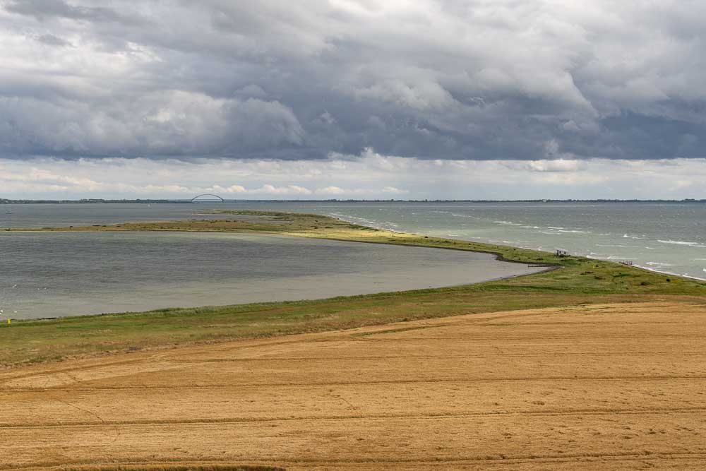 Ausblick vom Leuchtturm Flügge