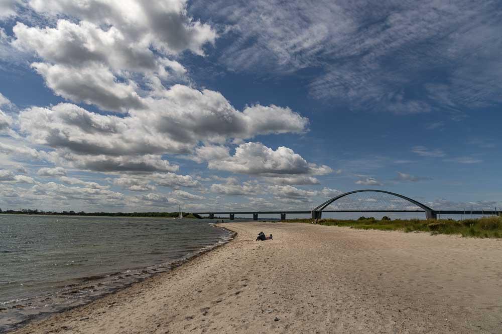 die Fehmarnsundbrücke, das Wahrzeichen von Fehmarn