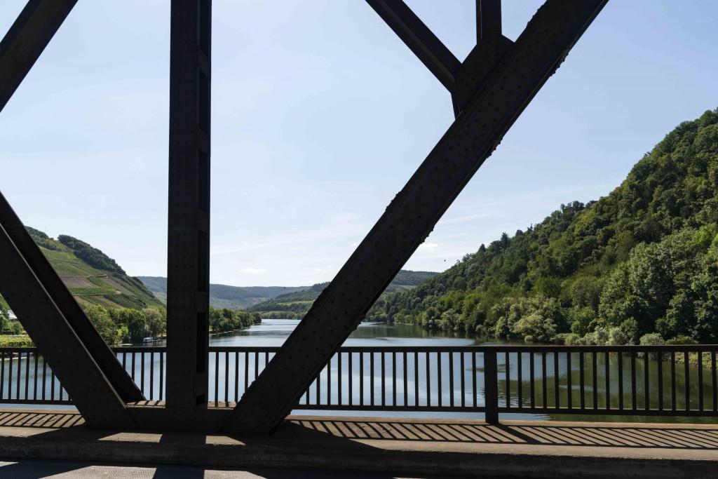 auf der Brücke der Kanonenbahn