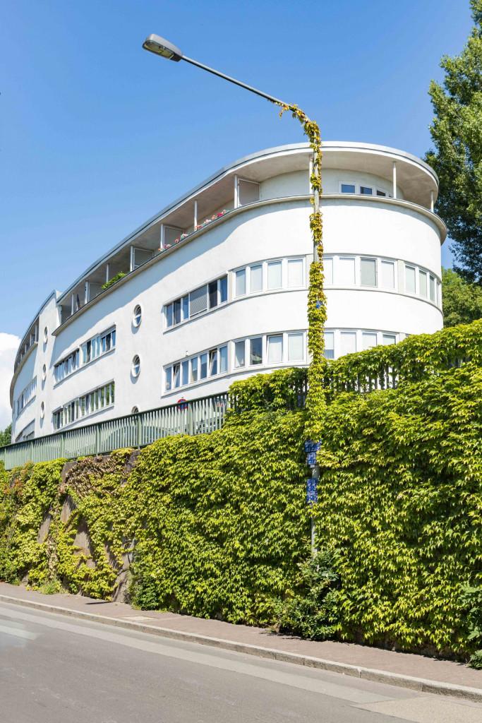 großes Haus in der Römerstadtsiedlung