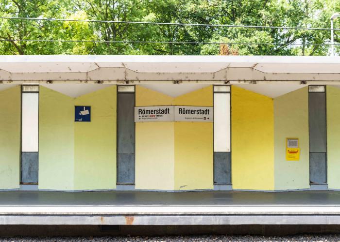 U-Bahn Haltestelle Römerstadt