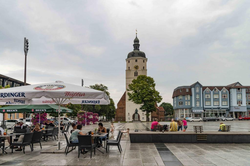 Marktplatz von Lübben
