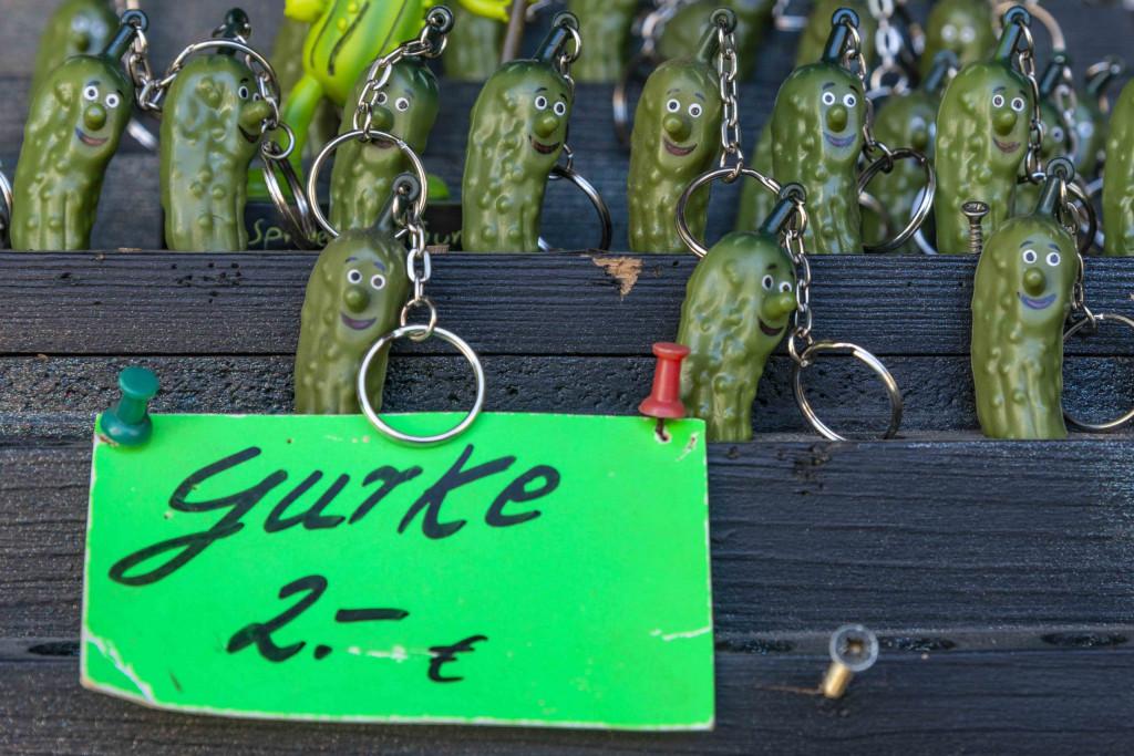 Gurken-Schlüsselanhänger