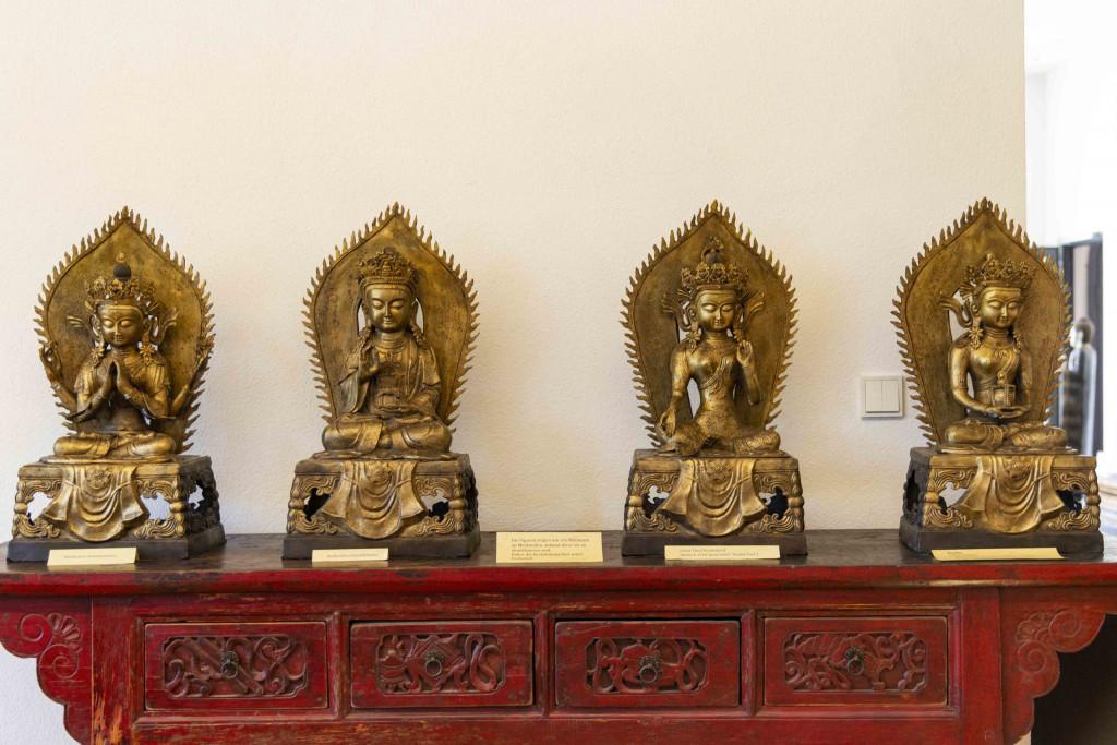 Handgesten der Buddhas