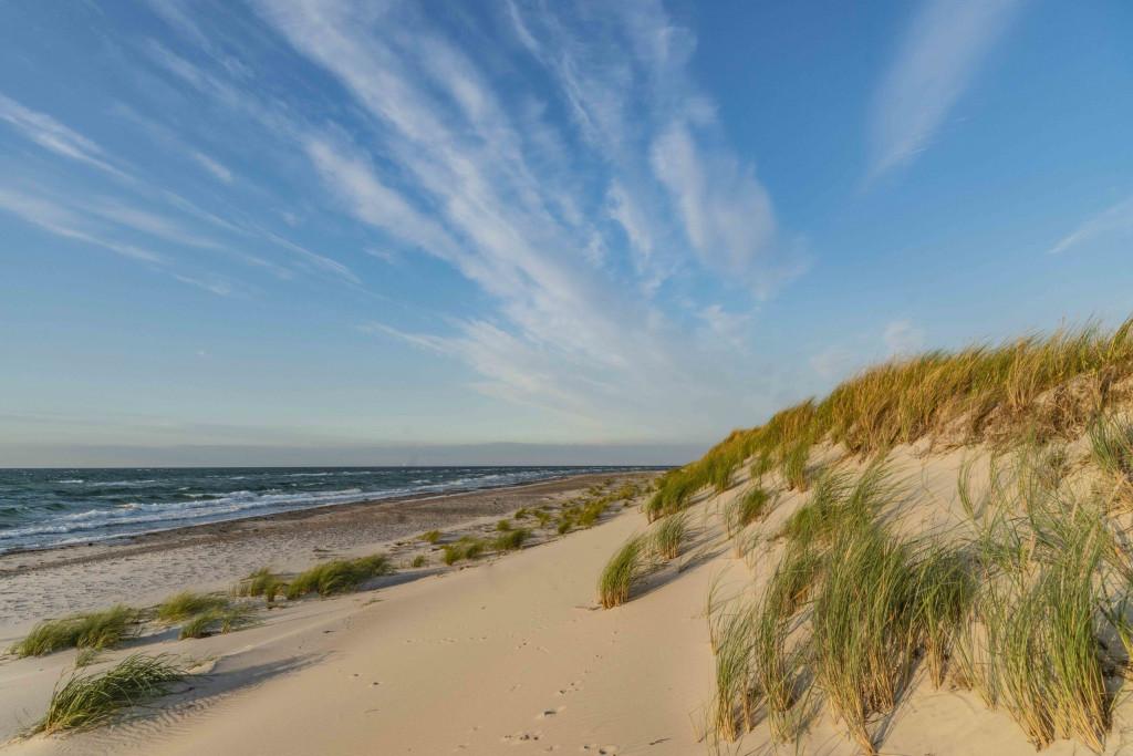 gesperrter Strand in der Kernzone des Nationalparks