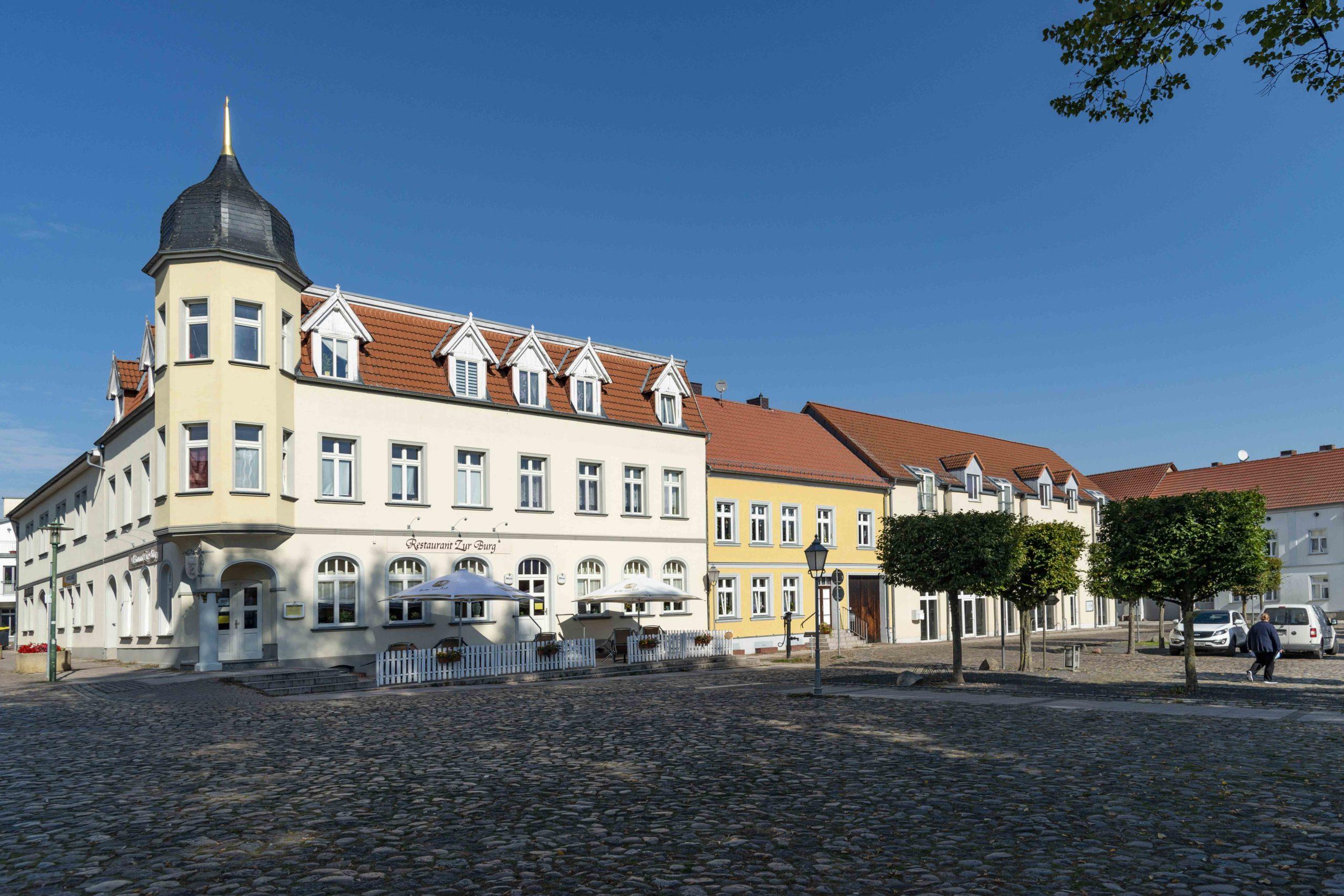 Marktplatz von Wesenberg