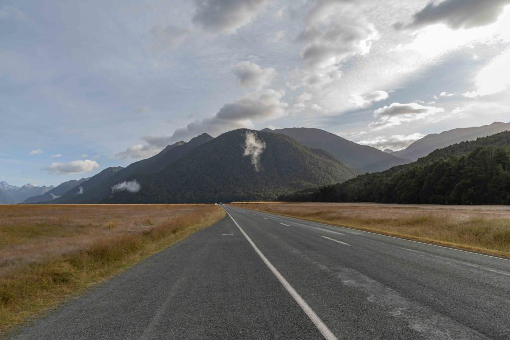 Straße zum Milford Sound