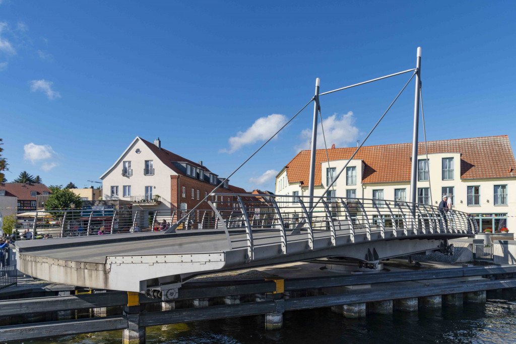 Drehbrücke in Malchow