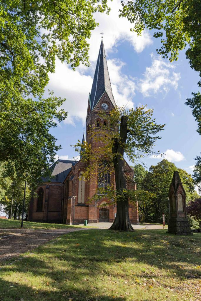 Stadtkirche der Inselstadt Malchow