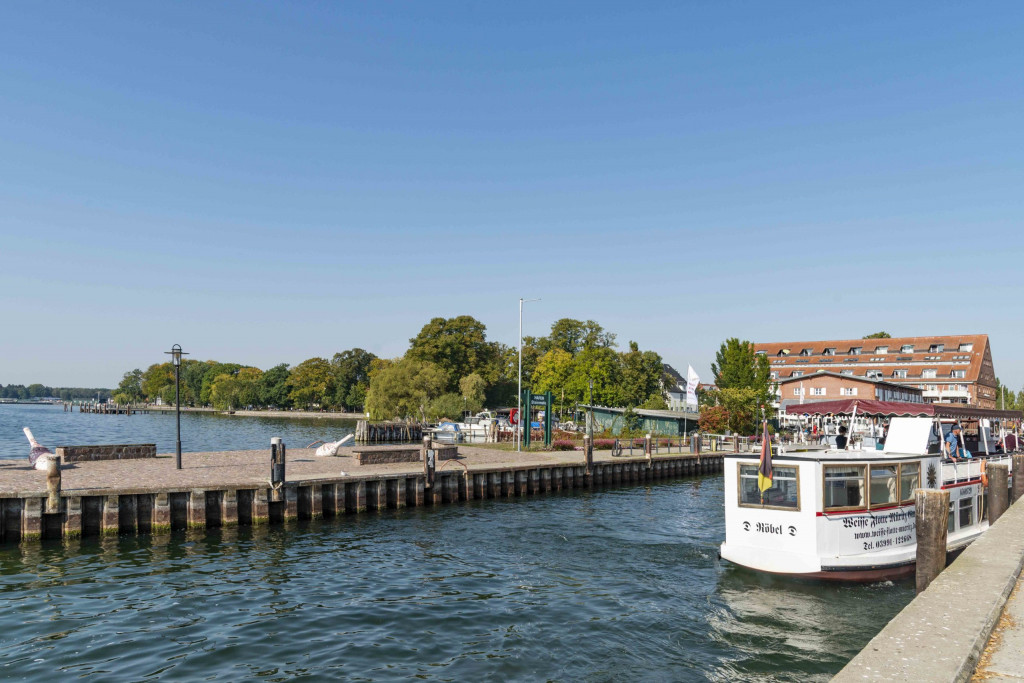 Hafen von Waren Müritz