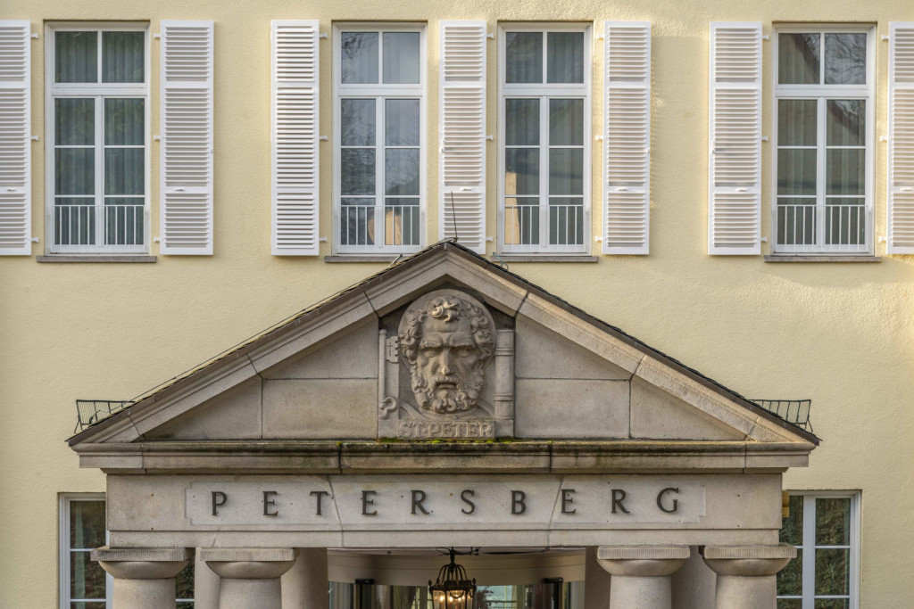 Hoteleingang Petersberg Bonn