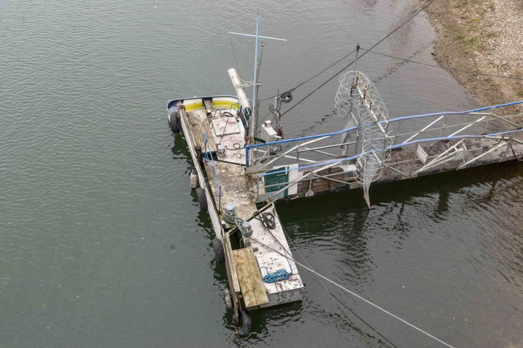 Bootsanleger vor Grafenwerth