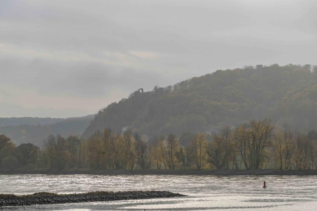Rhein mit Rolandsbogen