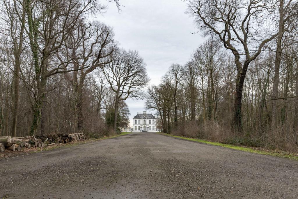 Blick auf Schloss Falkenlust