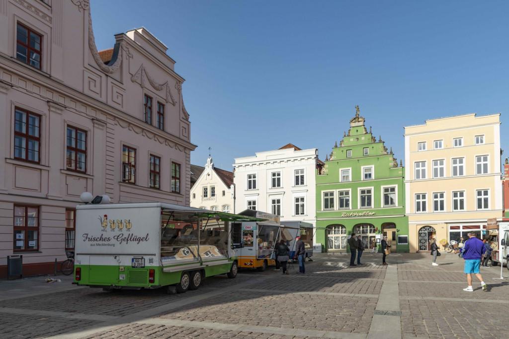 Marktplatz von Güstrow