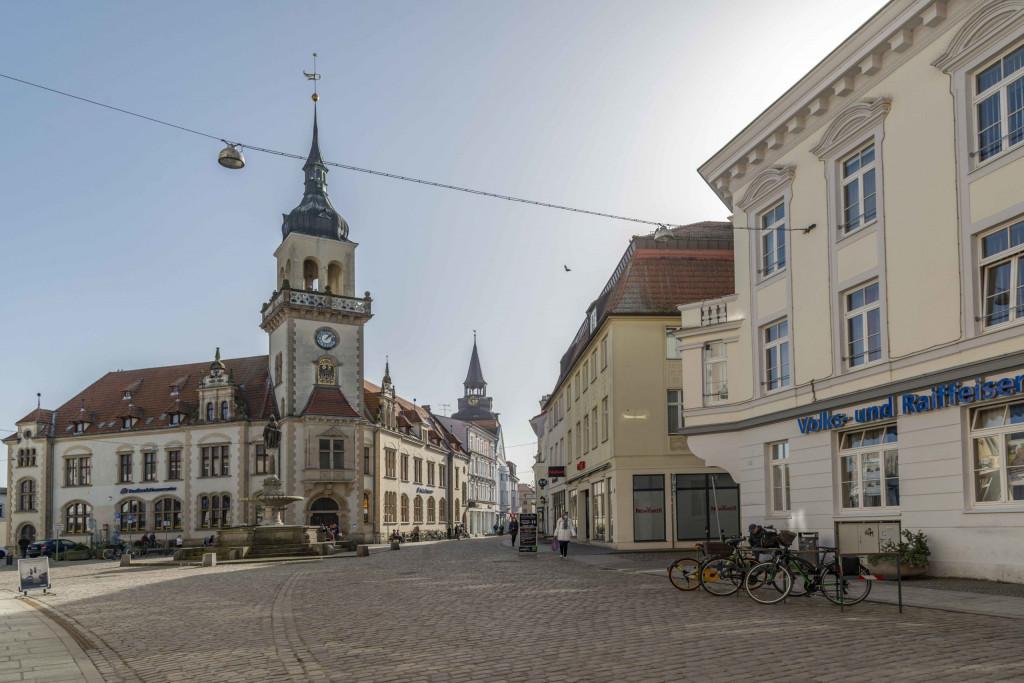 Innenstadt von Güstrow