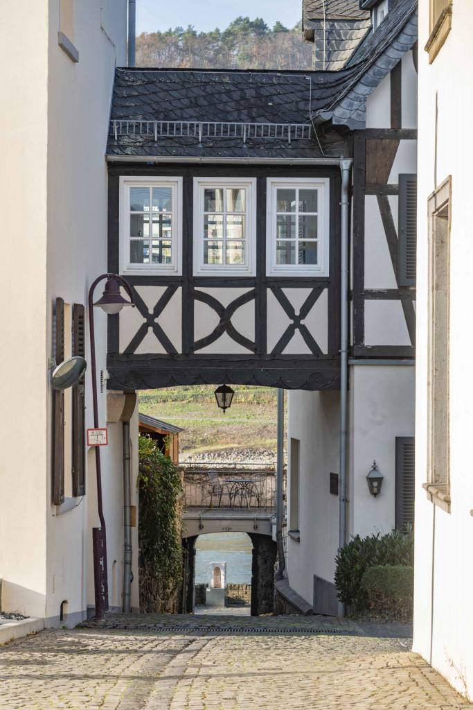Durchblick zum Rhein
