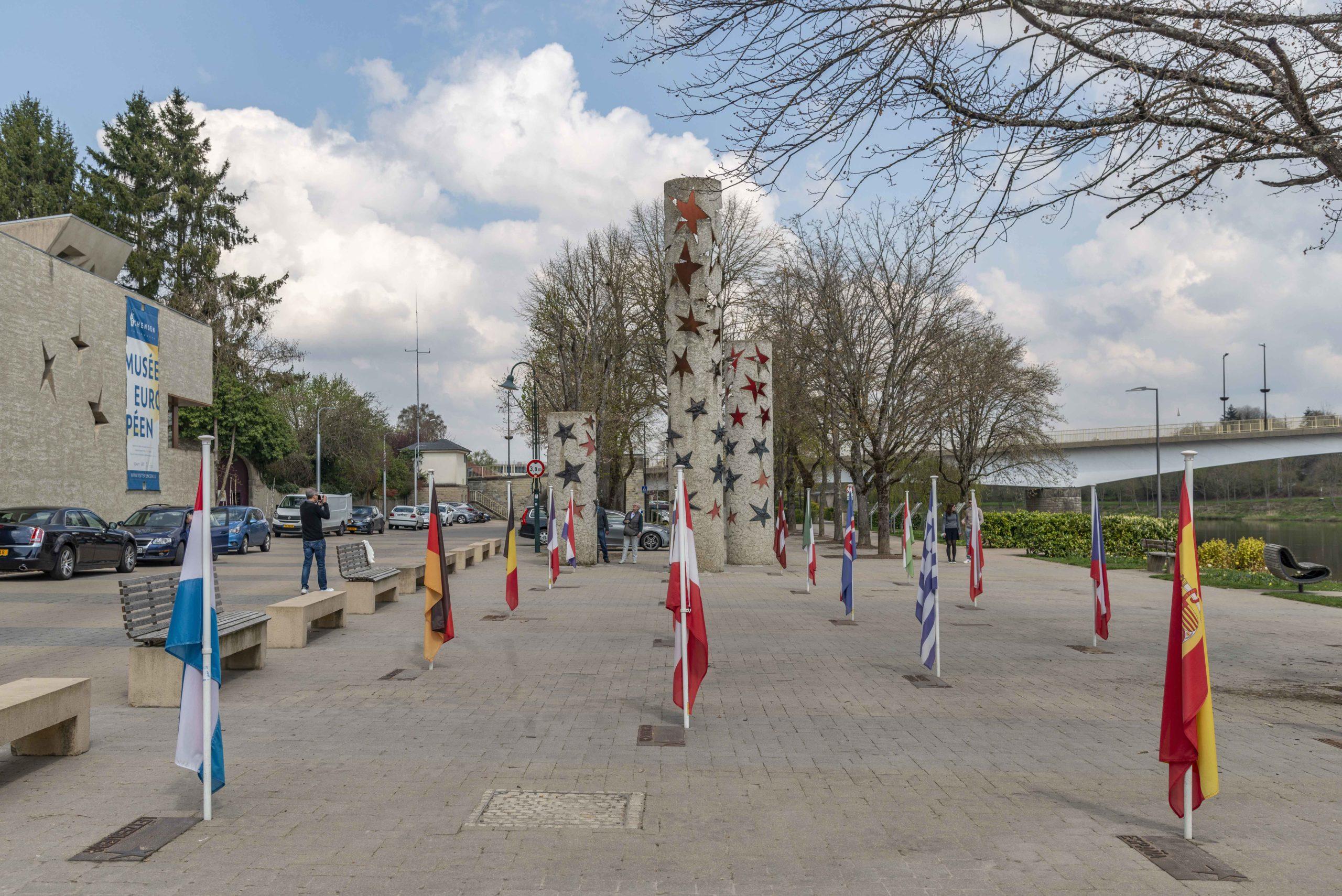am Europamuseum in Schengen