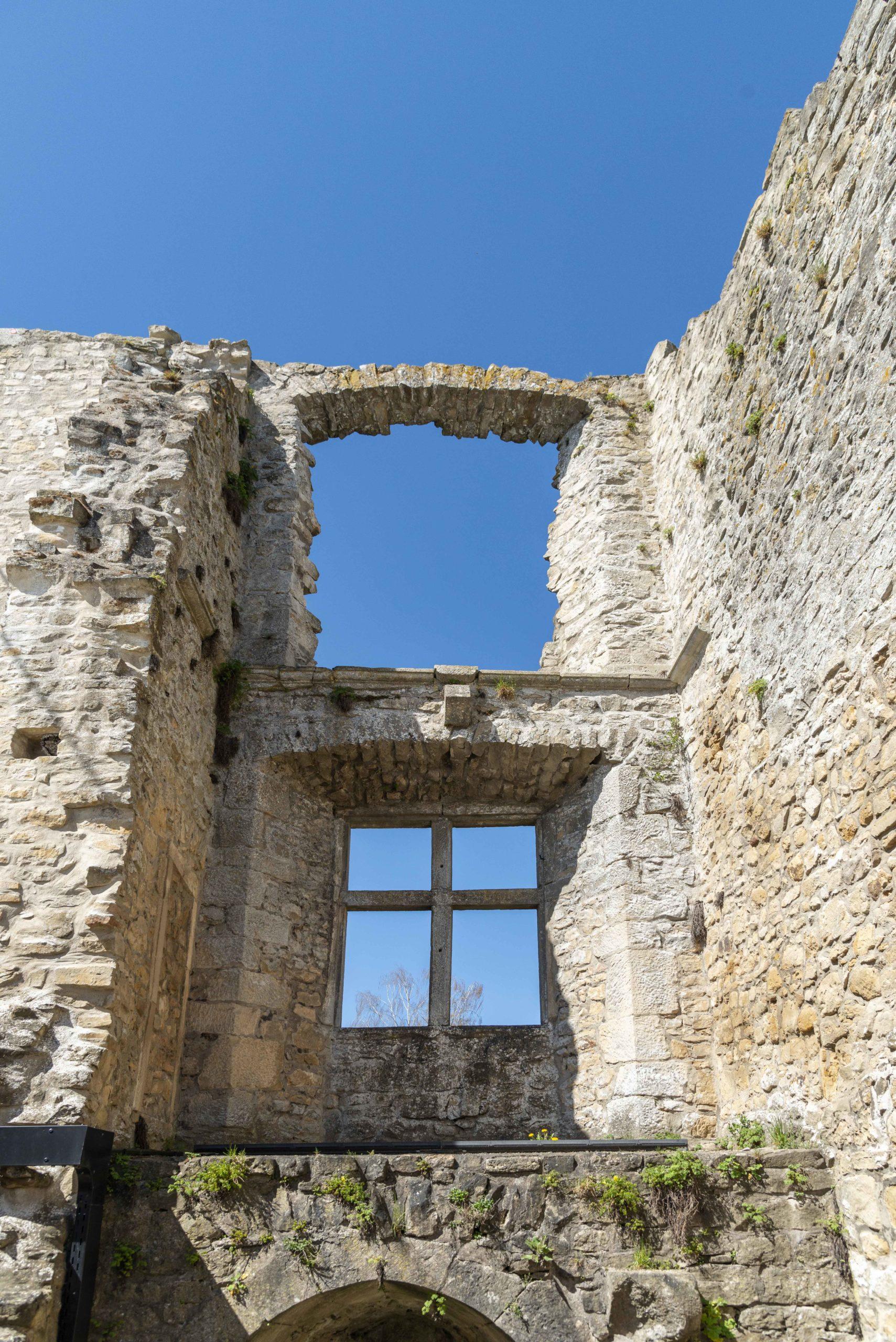 Burgruine in Koerich