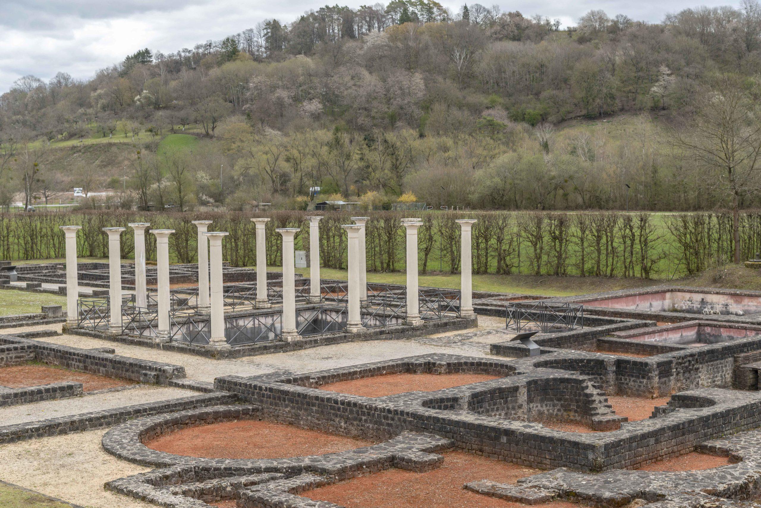 römische Villa in Echternach