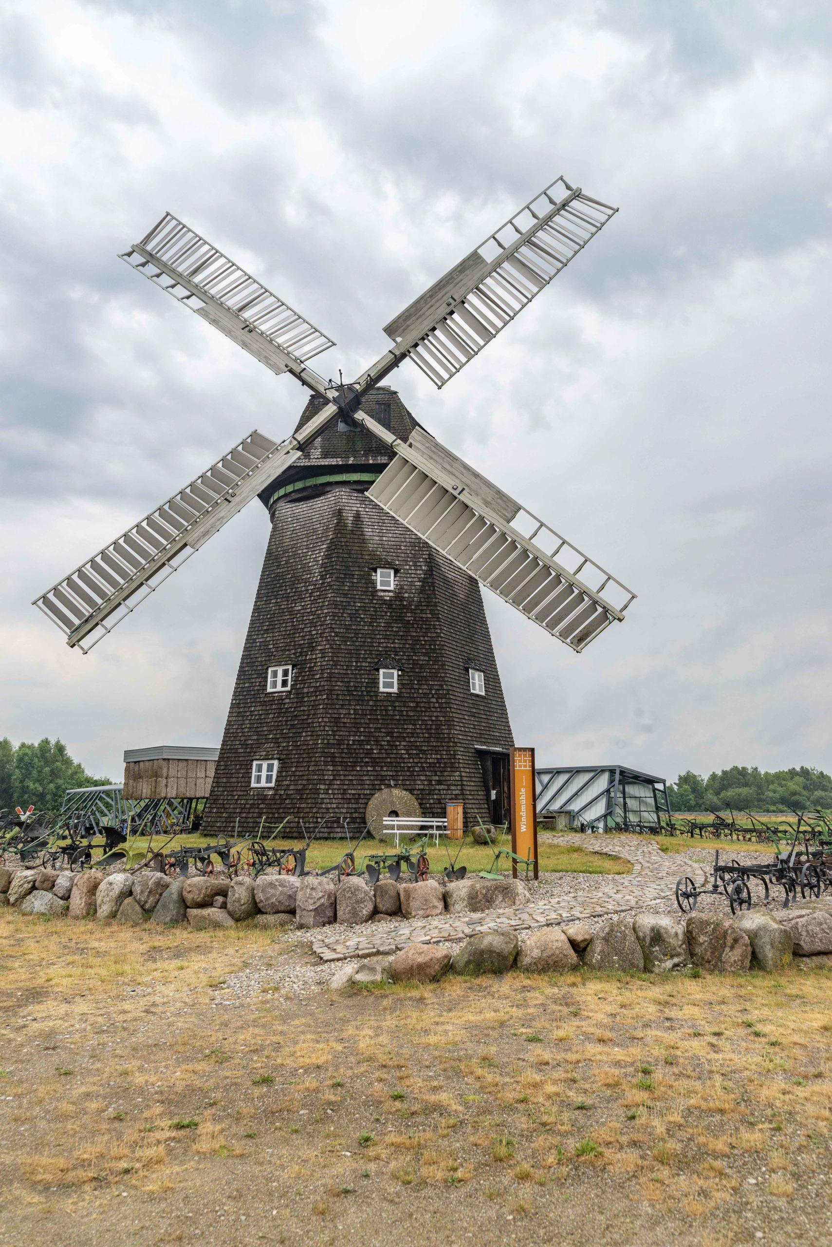 Windmühle von außen