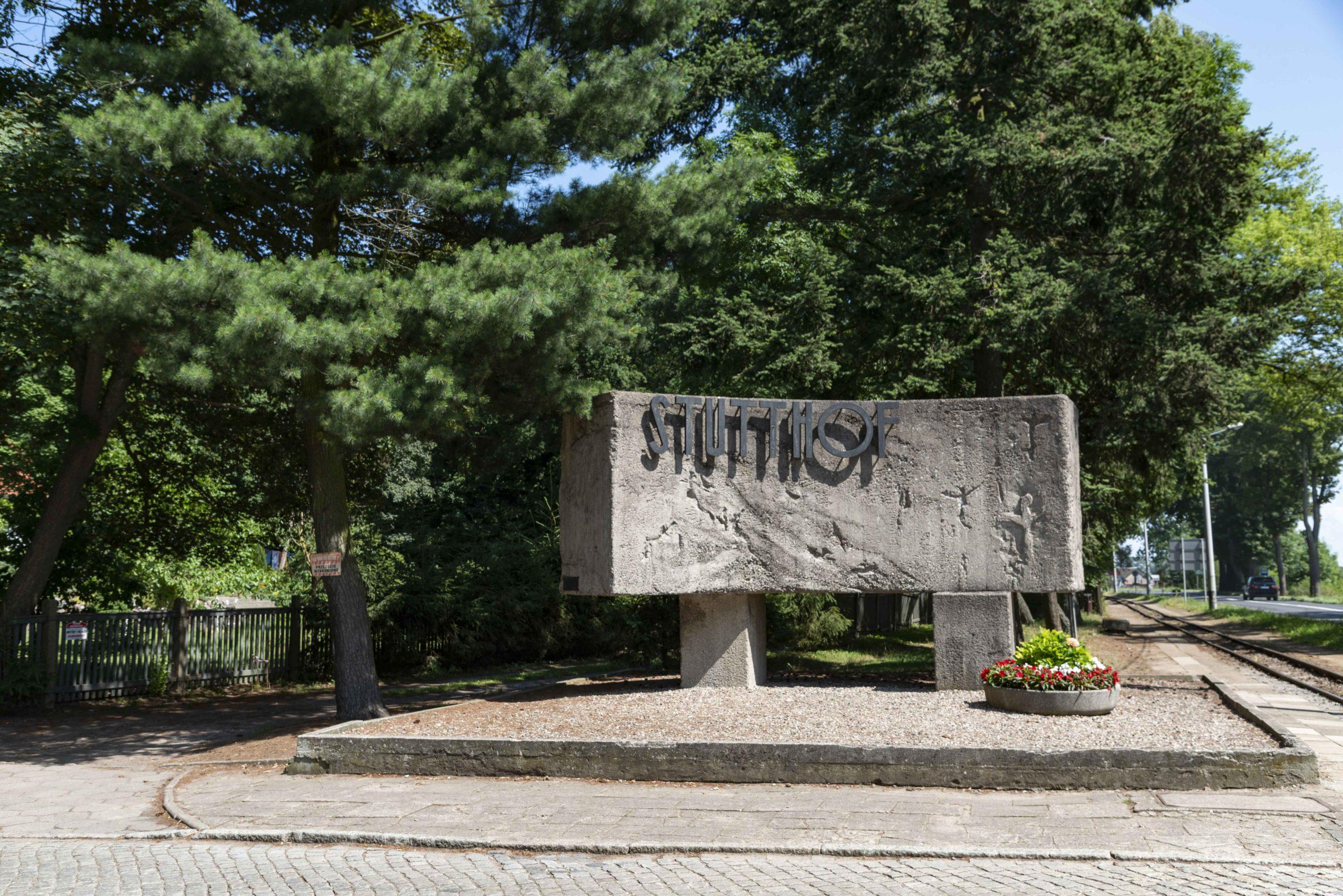 Eingang Konzentrationslager Stutthof