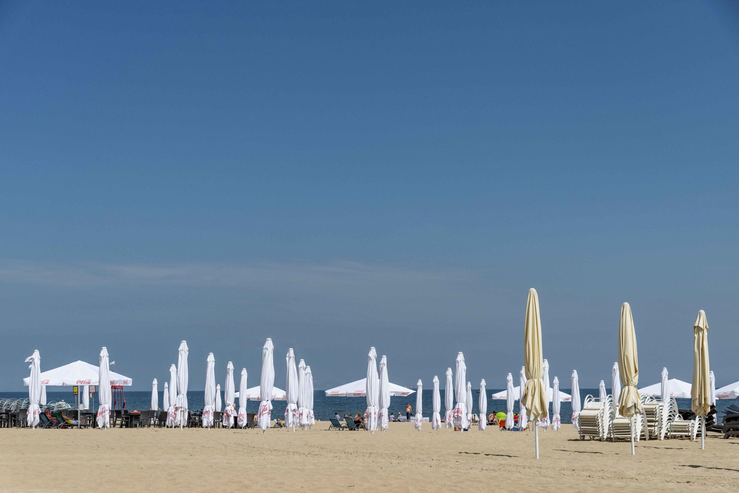 Strand im Seebad Sopot