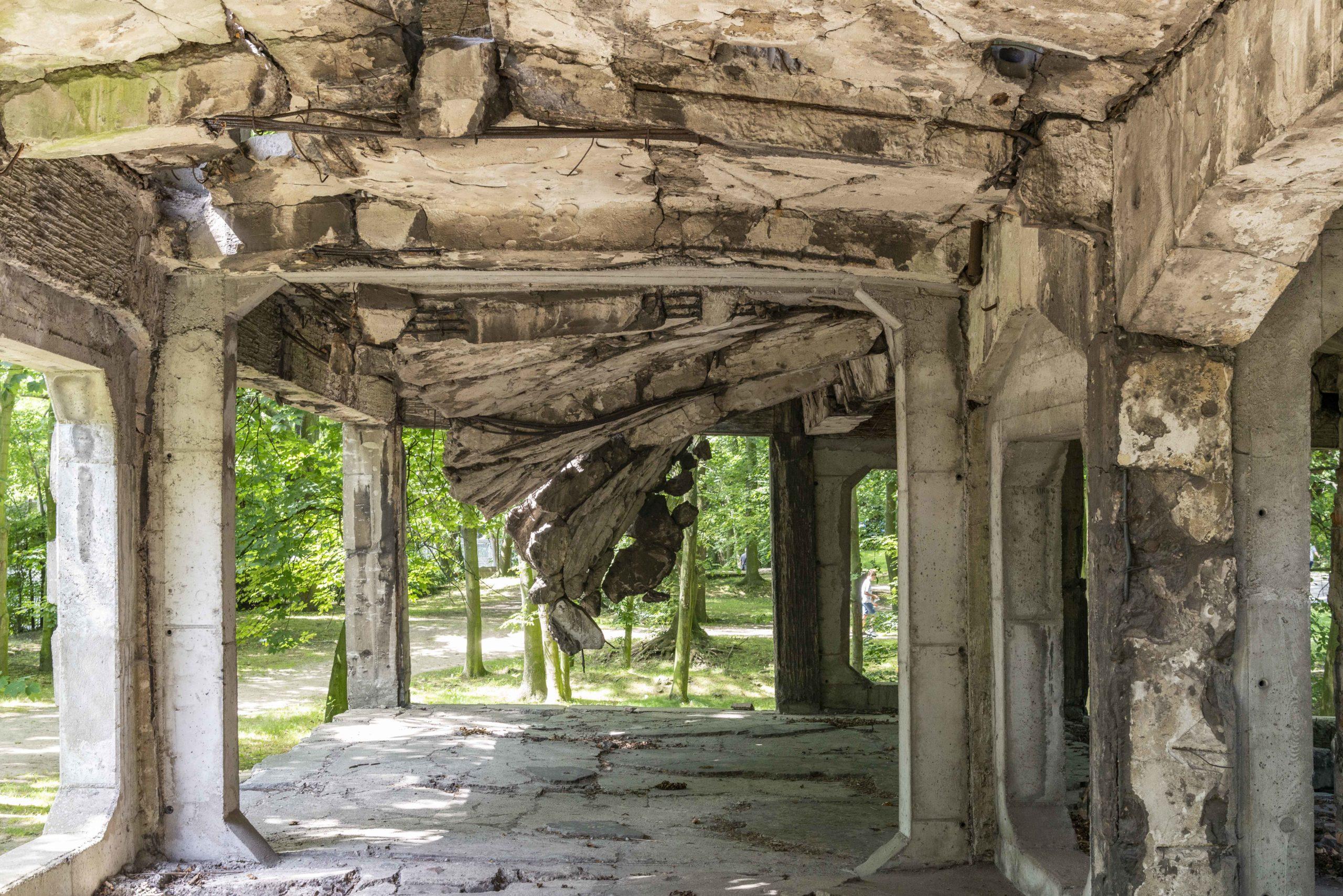 Ruine Militärdepot
