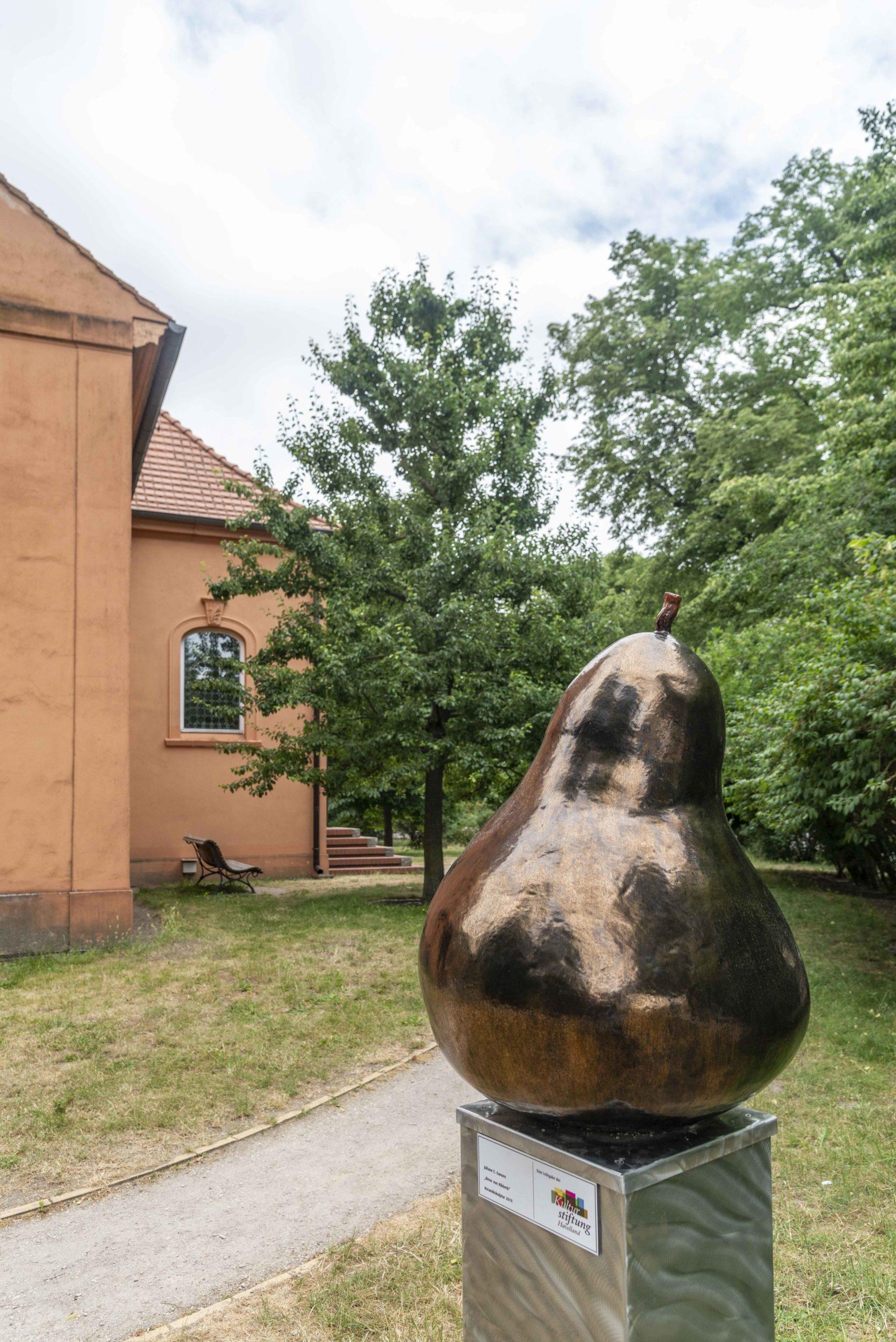 Birnbaum im Kirchhof von Ribbeck