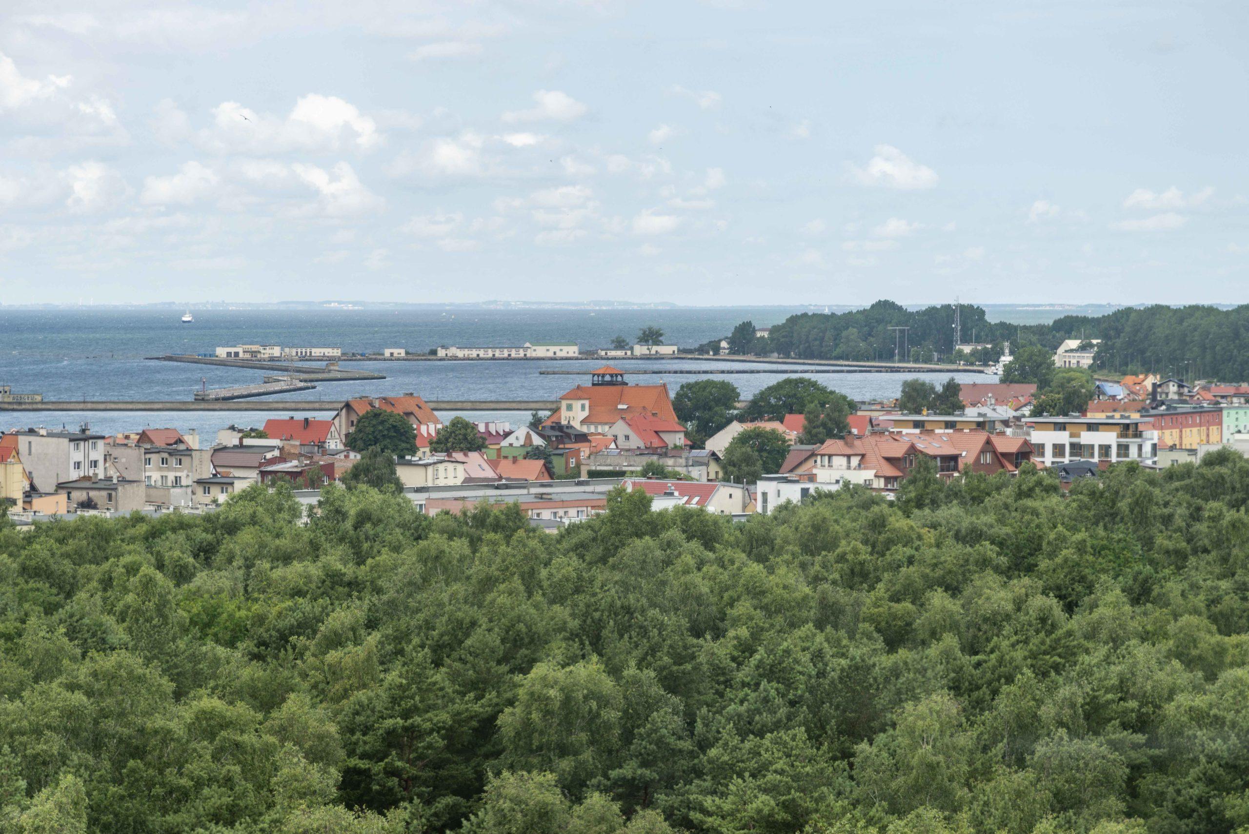 Blick vom Leuchtturm Halbinsel Hel