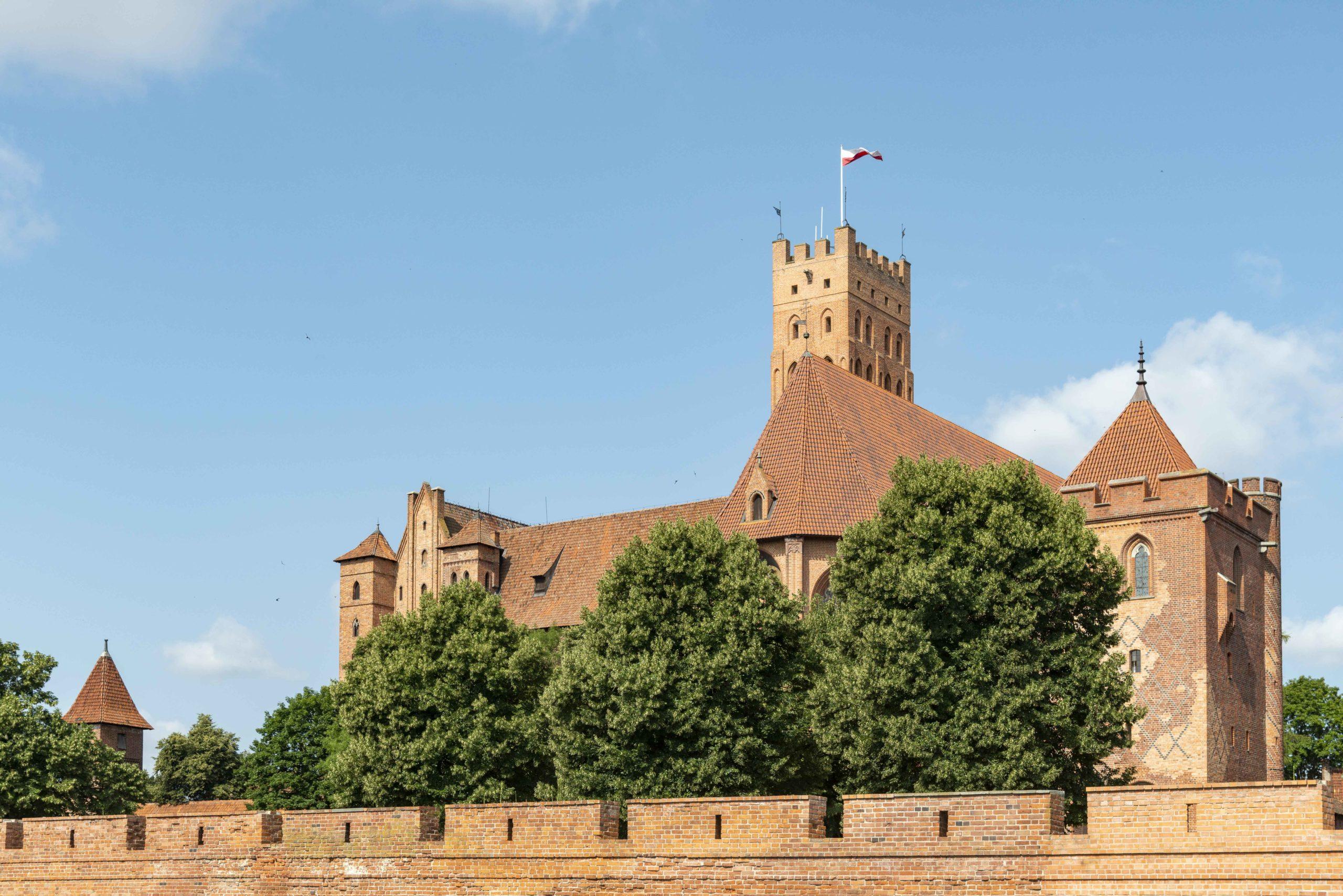 mächtige Marienburg