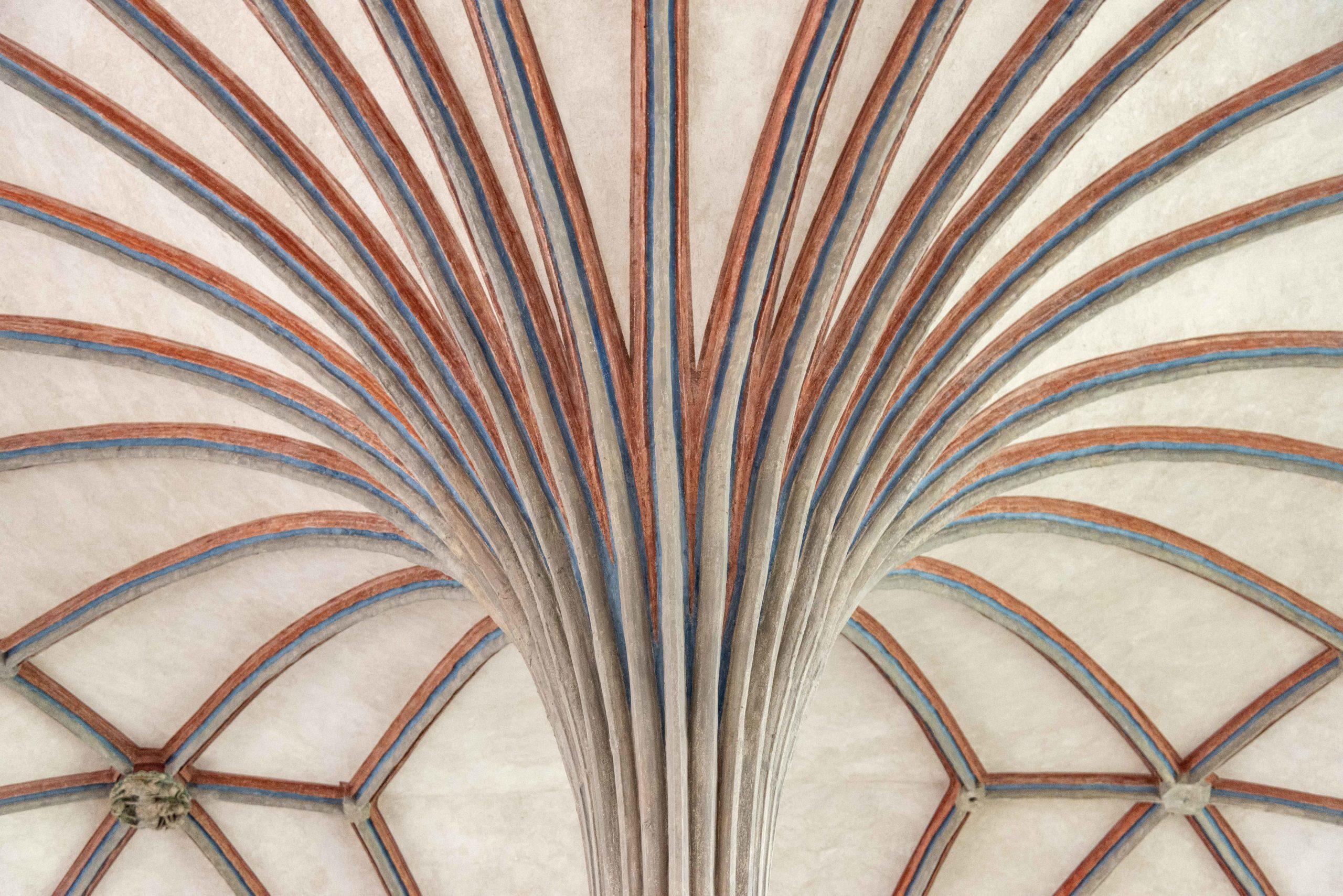 Säule im Inneren der Marienburg