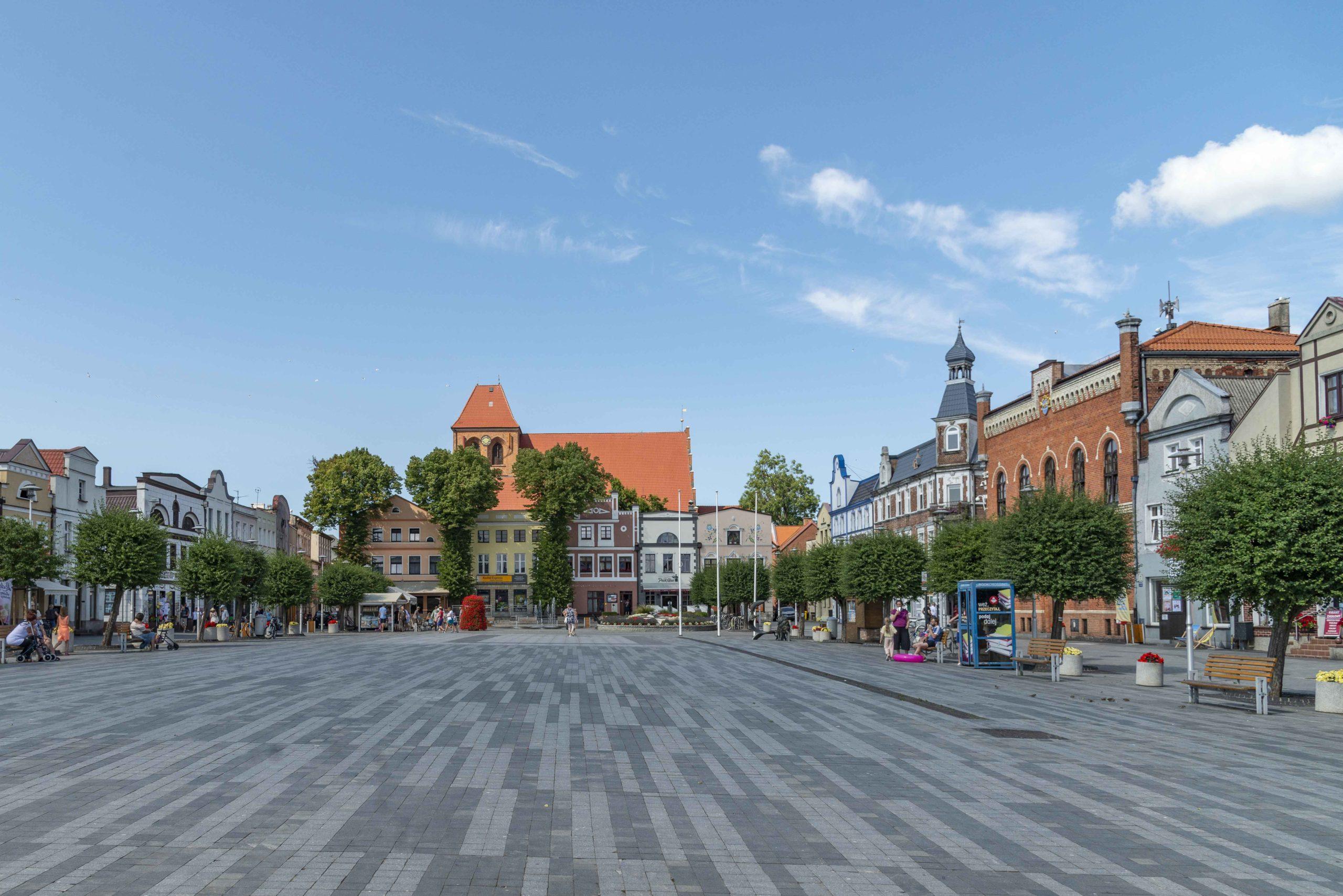 Marktplatz von Puck