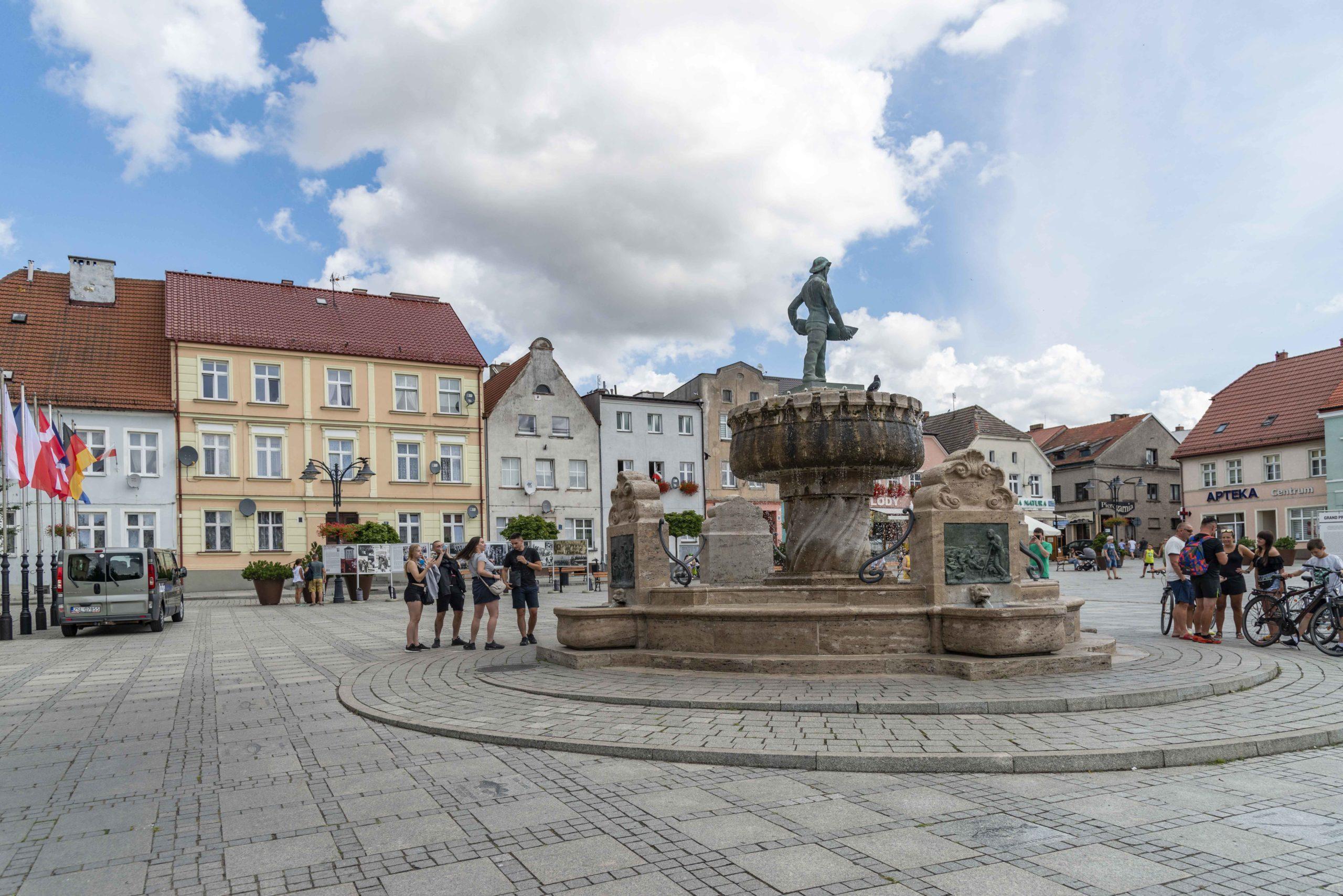 Marktplatz von Darlowo