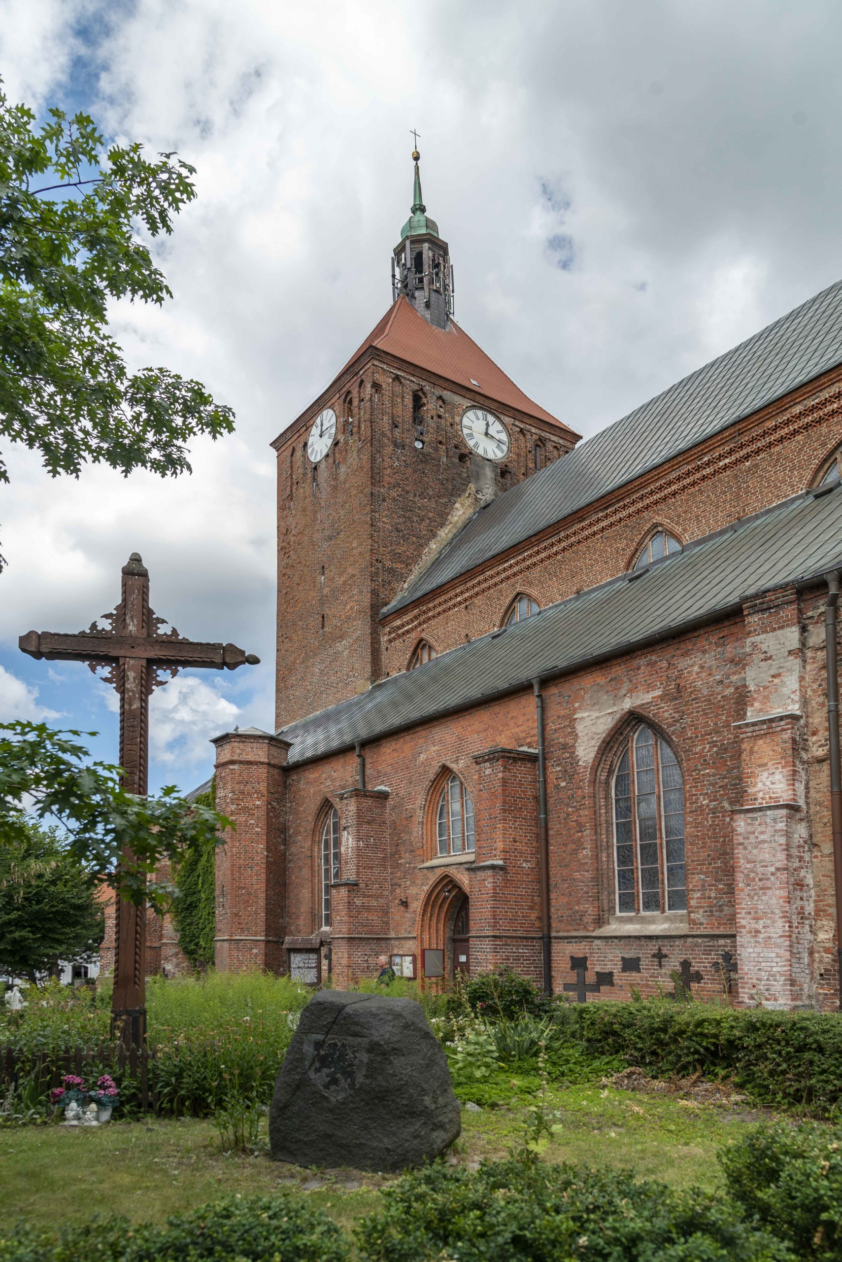 Kirche in Darlowo