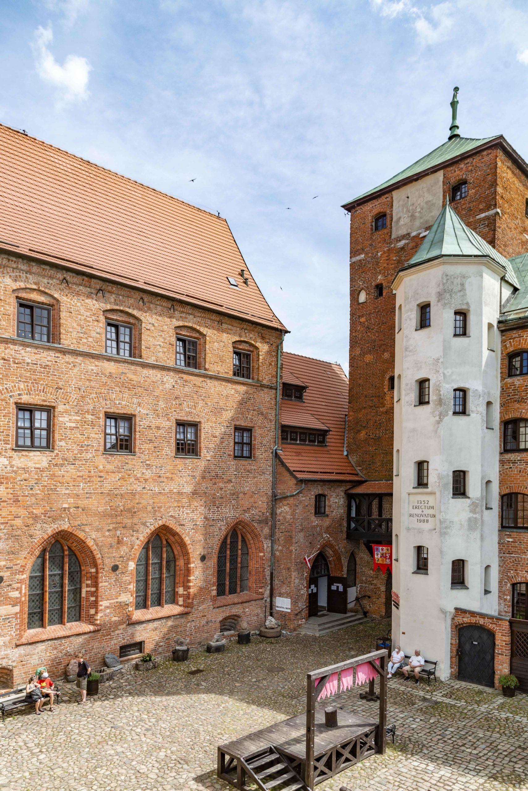 Burg in Darlowo