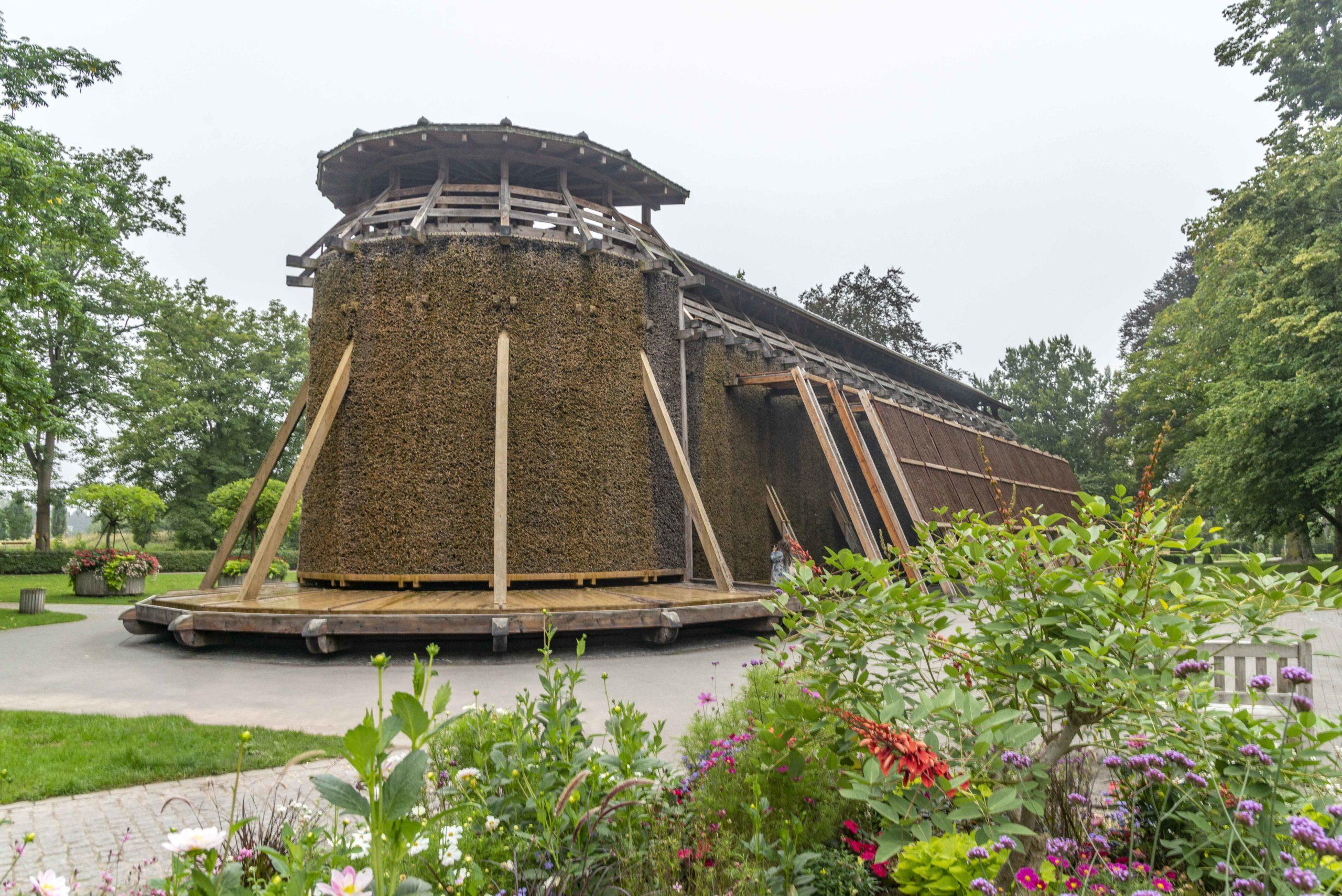 Gradierwerk im Kurpark Hamm